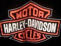 Harley Davidson Men's XL Black T Shirt Back Bay Boston USA | eBay