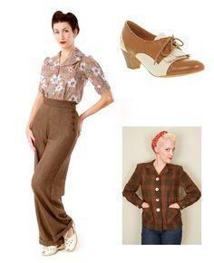 Great 1940s look