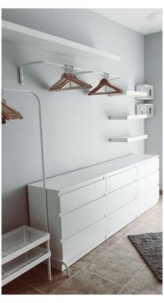 Ikea Closet, Closet Bedroom, Bedroom Storage, Bathroom Closet, Closet Doors, Room Ideas Bedroom, Bedroom Decor, Bedroom Wall, Bedroom Rugs