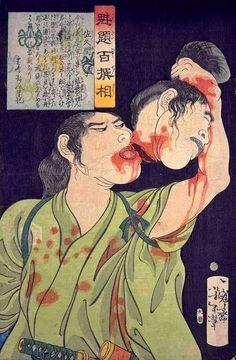 Tsukioka Yoshitoshi(1839-1892)-Sakuma Daigaku