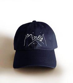 6ab8155da33f4 Pinky promise baseball cap