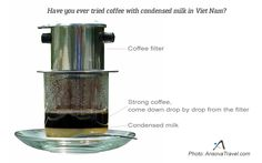 Have you ever tried coffee with condensed milk in Vietnam?