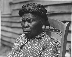 Harmony Community, Putnam County, Georgia.... This old woman was a slave and belonged to the family . . ., 05/28/1941 - 06/01/1941 (National Archives)