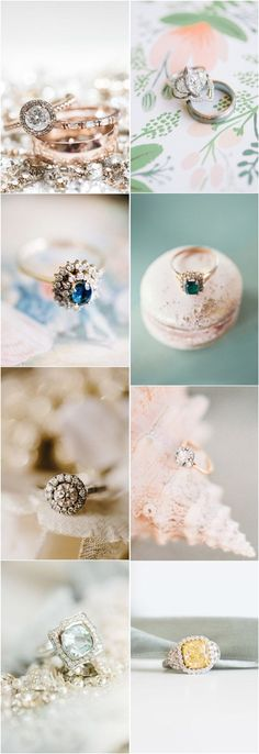 vintage engagement rings-diamond engagement rings