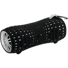 Bluetooth(R)-Enabled Portable Marine Speaker (Silver & Black) - BOSS AUDIO - MRBT140