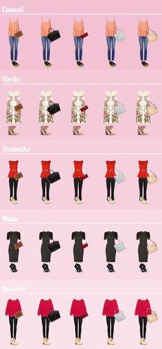 Bolsas que combinam com tudo: aprenda como escolher a sua - Dicas de Mulher