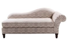 Regency chaise longue and classic on pinterest for Bernhardt chaise lounge