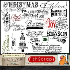 quotes for scrapbooking | Quotes & Sayings for the Holidays (Christmas 2) Word Art Scrapbooking ...