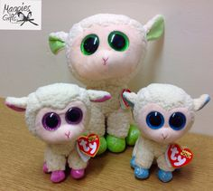 Getting ready for Easter with these colourful Lamb's from TY now in stock at Magpies Gifts & Magpies Gifts, Beanie Boos, Lamb, Plush, Easter, Christmas Ornaments, Holiday Decor, Animals, Color