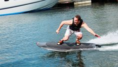 Radinn Makes An Electric Powered Wakeboard