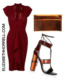 """""""LIZ"""" by elizabethhorrell ❤ liked on Polyvore featuring Tom Ford and MM6 Maison Margiela"""