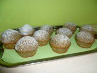 Muffinky ala makovec Carrot Cake, Baked Potato, Carrots, Food And Drink, Potatoes, Cupcakes, Baking, Breakfast, Ethnic Recipes