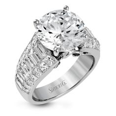Diamond Rings Simon G White Gold Simon-Set Collection Channel Set Diamond Engaement Ring - Simon G Nocturnal Diamond Wedding Rings, Diamond Engagement Rings, Large Diamond Rings, Wedding Band, Solitaire Ring, Diamond Jewelry, Jewelry Rings, Diamond Earrings, Jewlery