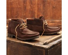 Men's Timberland Boot Company® Mudlark Safari Chukka - Style: 4004R // Standards of workmanship do not tarnish over time, as is evident from the durable, handsewn stitching, premium burnished leather, dependable outsoles, support and warm-weather comfort of this industrial-era inspired boot.