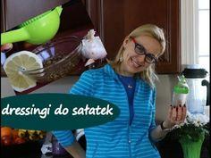 Zdrowe, domowe dressingi / sosy do sałatek - podstawowe (część 1)