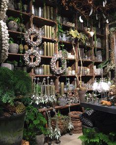 Bang & Thy er kendt for de kantede og kreative blomsterarrangementer og buketter. Et fantasifuldt rum dekoreret med planter, grene og blomster... Bang & Thy