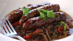 Merguez with lentils