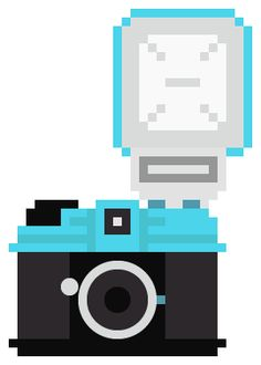 A collection of 100 pixelated camera illustrations for anybody to download and use in whatever way they see fit! <3