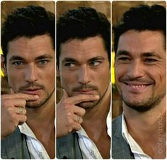 Oh he's so pretty. David Gandy (of course).