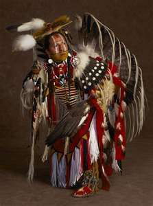 Pow  Wow Dancer, giving thanks to the Great Grandfather.