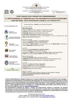 Italia Medievale: Il cristianesimo altomedievale tra agiografia ed e...