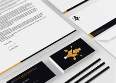 Arthropometrics corporate identity by Koliber , via Behance