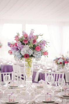 Pastel centerpieces: http://www.stylemepretty.com/kentucky-weddings/2015/03/18/elegant-kentucky-farm-wedding/ | Photography: Melanie Mauer - http://www.melaniemauer.com/