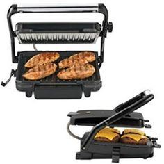 Hamilton Beach Contact Grill - low  fat cooking, non-stick grids $54.99