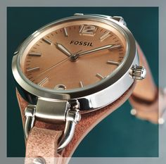 Fossil watch for Her - Available at selected Sterns stores Gift Of Time, Omega Watch, Fossil, Watches For Men, Gifts, Accessories, Presents, Men's Watches, Favors