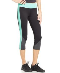 Calvin Klein Colorblocked Cropped Leggings