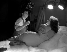 George Hurrell shooting setup