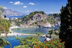 beaches in Taormina- Sicily #taormina #sicily #sicilia