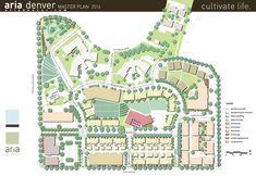 Aria Denver Townhomes cohousing and senior cohousing + urban farming etc by Wonderland hill development company