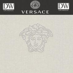 Catalan Bay Versace Logo Panel by Versace Wallpaper - Sample