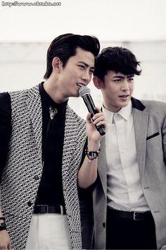 Taecyeon and Nichkhun <3