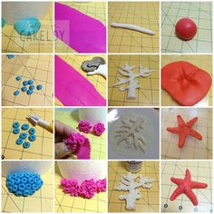 making fondant sea coral - Google Search