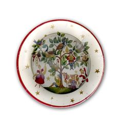Twelve Days Of Christmas Dessert Plates   PaperStyle