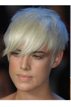 Agyness Deyn was the first to inspire me to have short hair.