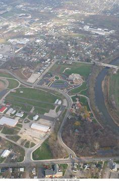 Muncie, IN - Minnetrista Aerial View