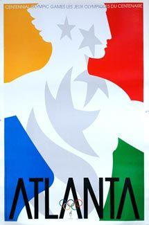 atlanta olympics poster 1996