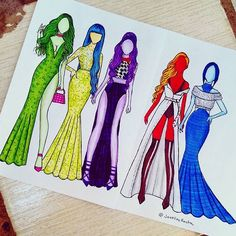Trendy Drawing Sad Sketches Inside Out Cute Disney Drawings, Pretty Drawings, Cool Art Drawings, Fashion Design Drawings, Fashion Sketches, Bild Girls, Sad Sketches, Social Media Art, Arte Fashion