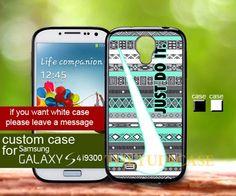 Nike aztec do it black white - Samsung Galaxy S4 case | TheYudiCase - Accessories on ArtFire