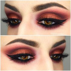 @anastasiabeverlyhills brows @vegas_nay grand glamour lashes, @makeupgeektv @makeupgeekcosmetics eyeshadows in cupcake, wisteria, bitten, and roulette