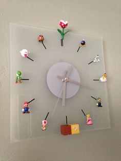 DIY Mario Bros Clock You are in the right place about sticky Glue Here we offer you the most beautiful pictures about the Glue icon you are looking for. When you examine the DIY Mario Bros Clock part