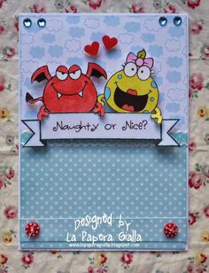 La Papera Gialla: My Sweet Monsters... Again! - Your Next Stamp