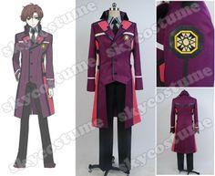 The Irregular at Magic High School Masaki Ichijō Uniform long coat suit Cosplay Costume