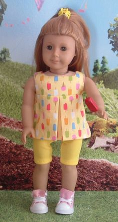 Summer Treats for American Girl by MyGirlClothingCo on Etsy