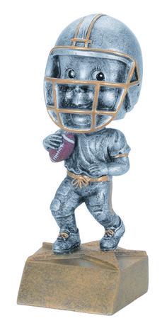 Youth,Fantasy Football Bobblehead Resin Trophy Free engraving.