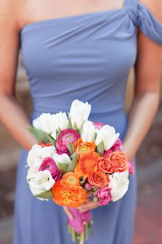 not crazy bout the flowers. but i love the dress! bridesmaid dresses only in red..? :D @Lacie Norman Blake @Meghan Krane Squire @Courtney Baker Thompson
