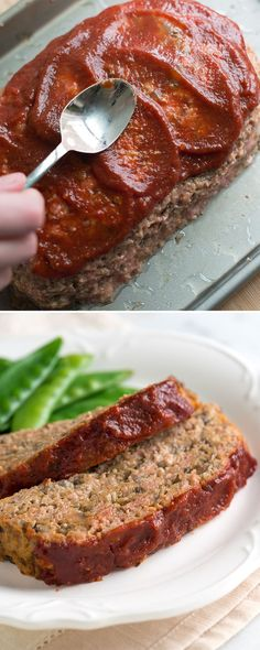 Unbelievably Moist Turkey Meatloaf Recipe - Learn our secret that transforms dry turkey meatloaf into something you will crave and want to make over and over again. From inspiredtaste.net | @inspiredtaste